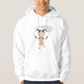 Girl Jumping Rope  T-shirts and Gifts
