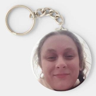 Girl key supporter keychain