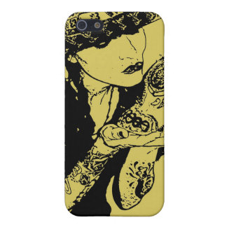 girl kisses skull iphone case iPhone 5 cases
