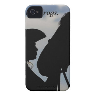 Girl Kissing Horse iPhone 4 Cover
