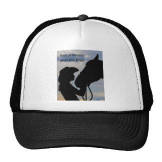 Girl Kissing Horse Trucker Hat