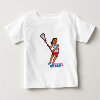 Girl Lacrosse Player - Dark Baby T-Shirt