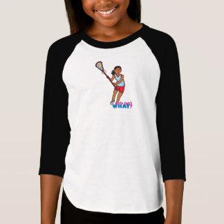 Girl Lacrosse Player - Dark T-Shirt