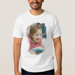 Girl laying in bed reading book T-Shirt