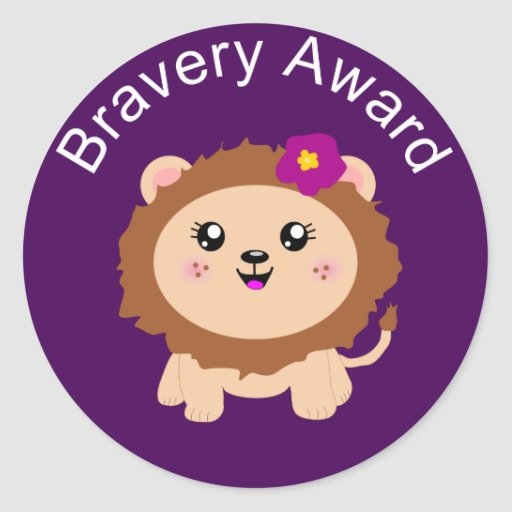 http://rlv.zcache.com/girl_lion_bravery_award_sticker_for_being_brave-r772ac7a7db824e24896e7285e914d6c2_v9waf_8byvr_512.jpg