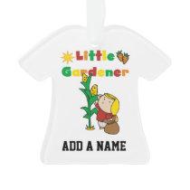 Girl Little Gardener Ornament