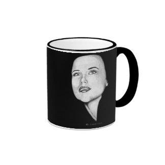 Girl looking forward mugs