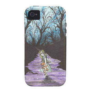 Girl Lost In Woods iPhone 4 Cover