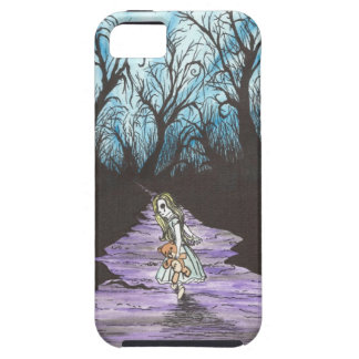 Girl Lost In Woods iPhone 5 Cases