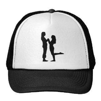 Girl Love Trucker Hats