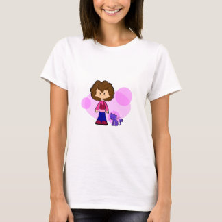 Girl love her Cat T-Shirt
