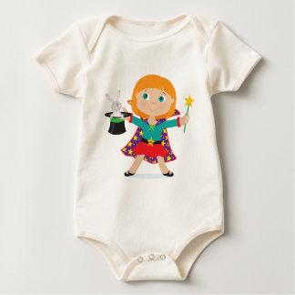 Girl Magician Baby Bodysuit