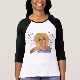 girl makeup painting T-Shirt