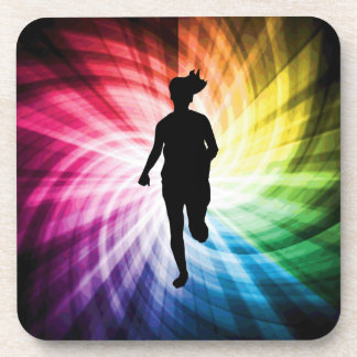 Girl Marathon Runner Coaster