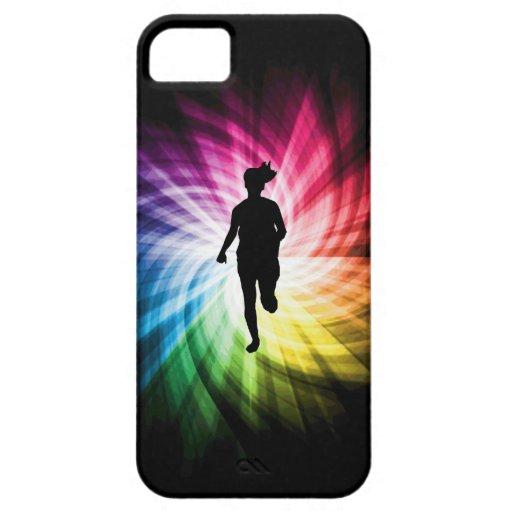 Girl Marathon Runner iPhone 5 Case