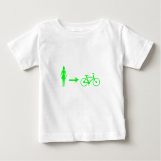 girl meets bike logo t shirt