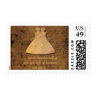 Girl Meets Girl Gay Wedding Brides Stamp
