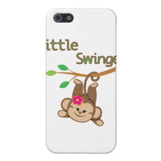Girl Monkey Little Swinger Case For iPhone SE/5/5s