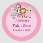 GIRL MONKEY Tu Tu Cute Baby Shower sticker TTC#2