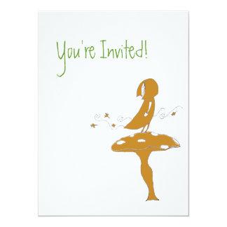 Girl Mush Invitation