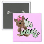 Girl My Dawg Tshirts and Gifts Button