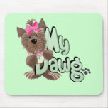 Girl My Dawg Tshirts and Gifts Mouse Pad