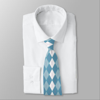 Girl Next Door Argyle Neck Tie