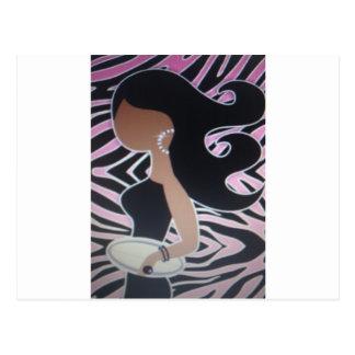 girl night out_blackgirl postcard