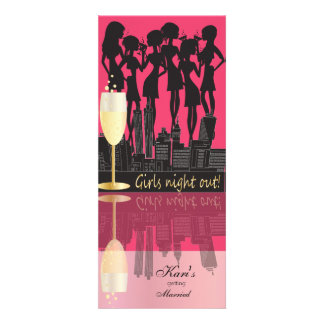 Girl Night Out Party Custom Announcements
