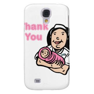 girl nurse thank you samsung galaxy s4 cover