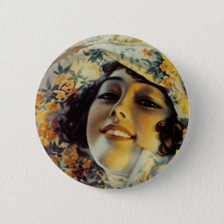 Girl of Mine Pinback Button