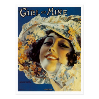 Girl of Mine Postcard