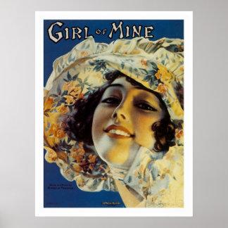 Girl of Mine Poster