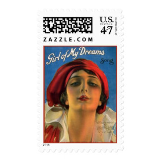 Girl of My Dreams Postage