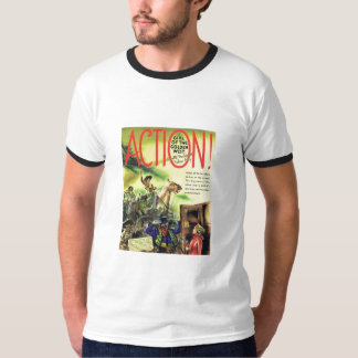 Girl of the Golden West 1939 Movie AD T-Shirt
