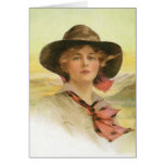 Girl Of The Golden West Greeting Cards