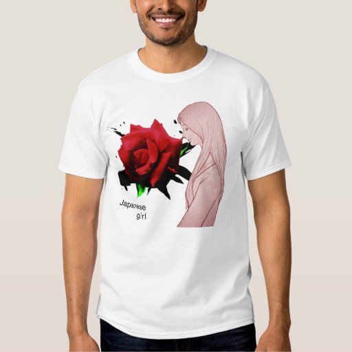 Girl of the Japanese of MANGA T-Shirt