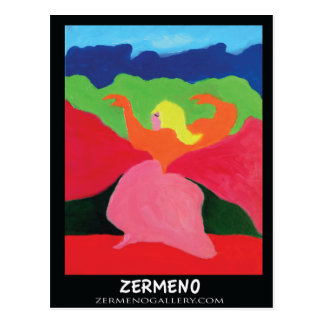 Girl of the Mountains from ZermenoGallery com Postcard