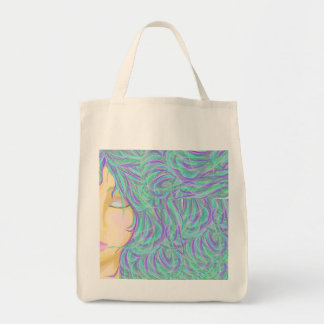 Girl of the Wind Tote Bag