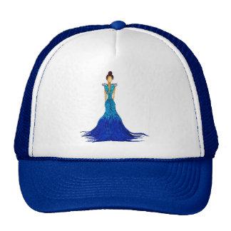 Girl of Water Dress - Ripple Trucker Hat