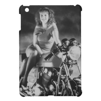 Girl On A Motorcycle iPad Mini Covers