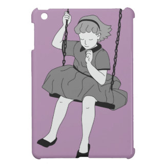 Girl on a Swing Case For The iPad Mini