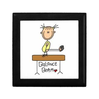 Girl on Balance Beam Gift Boxes