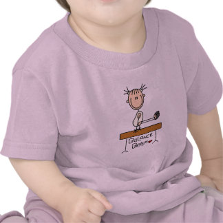 Girl on Balance Beam Tshirts and Gifts