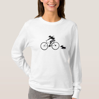 Girl On Bike T-Shirt