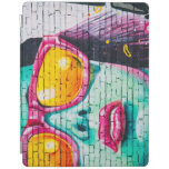 Girl on Brick Wall iPad Smart Cover