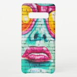 Girl on Brick Wall Samsung Galaxy S10+ Case