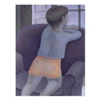 Girl on Chair 2002 Postcard