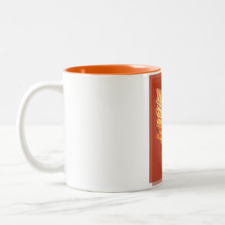 Girl on Fire coffee mug