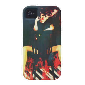 Girl on Fire  Electronic Skins and Cases iPhone 4 Cases